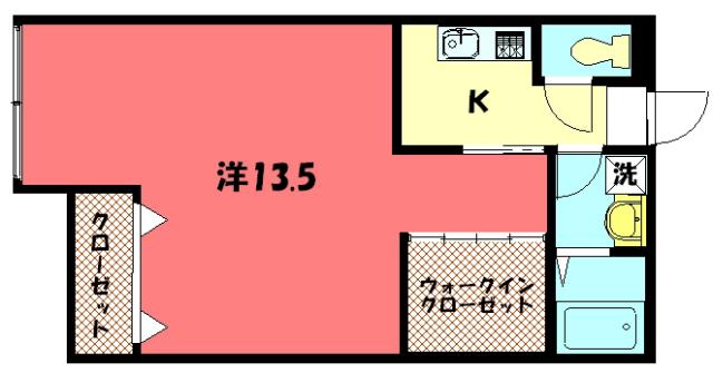 物件番号: 1075913805 ザクセル 京都市左京区吉田中阿達町 1K マンション 間取り図