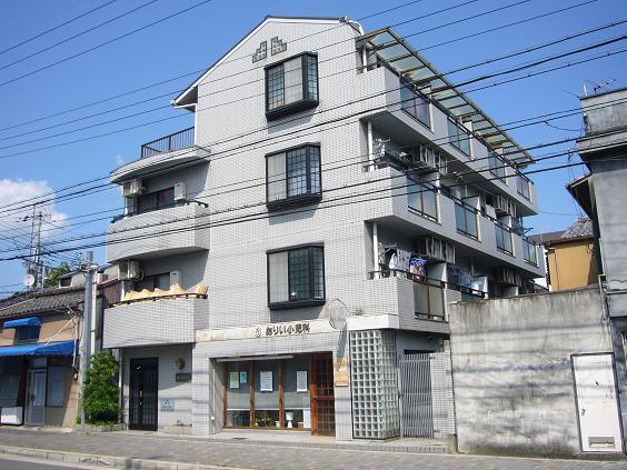 物件番号: 1075913471 森マンション5  京都市左京区一乗寺地蔵本町 1K マンション 外観画像