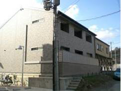 物件番号: 1075919425 ペイサージュ松ヶ崎  京都市左京区松ケ崎今海道町 1K アパート 外観画像