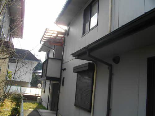物件番号: 1075921242 バウムヴィレッジ  京都市左京区岩倉南池田町 2DK ハイツ 外観画像