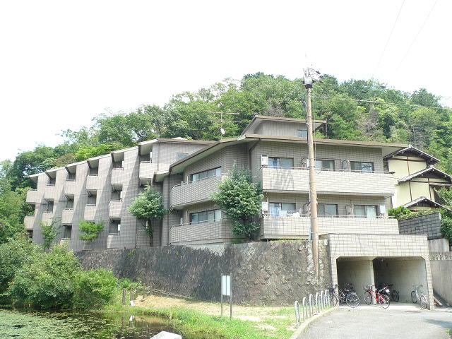 物件番号: 1075906566 メゾンジョアⅠ  京都市左京区松ヶ崎西山 1K マンション 外観画像