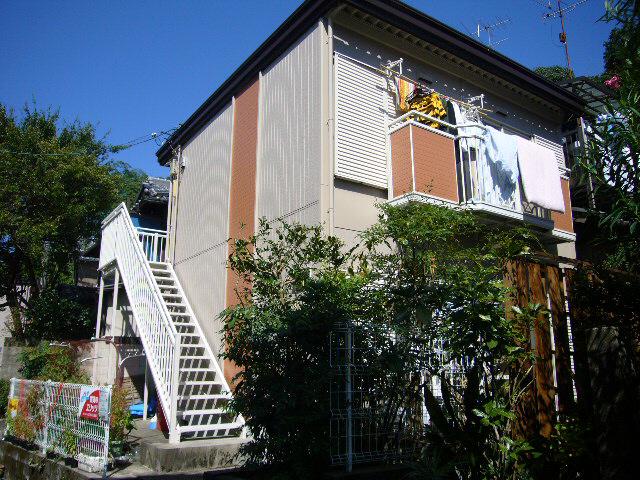 物件番号: 1075903617 ヴィラ哲学の道 京都市左京区鹿ケ谷法然院町 1K ハイツ 外観写真