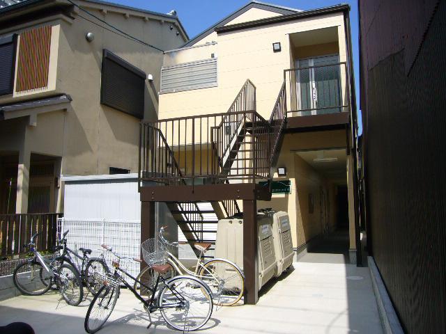 物件番号: 1075915466 京都アパートメント4  京都市左京区聖護院西町 1K アパート 外観画像