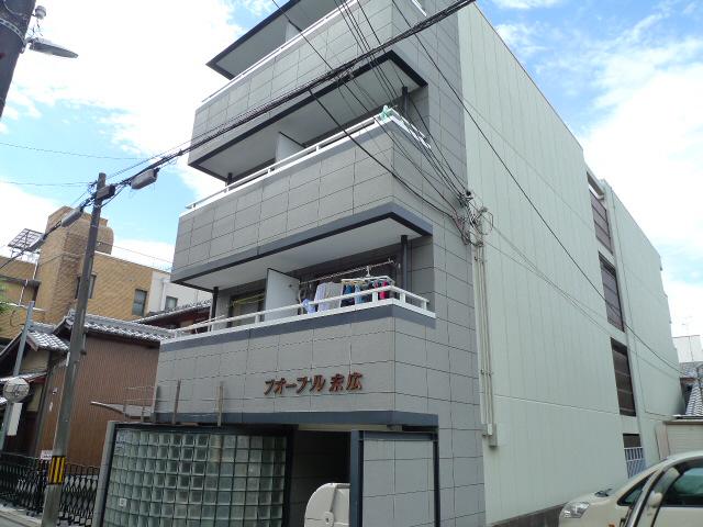 物件番号: 1075917325 フォーブル末広 京都市上京区末広町 1K マンション 外観写真