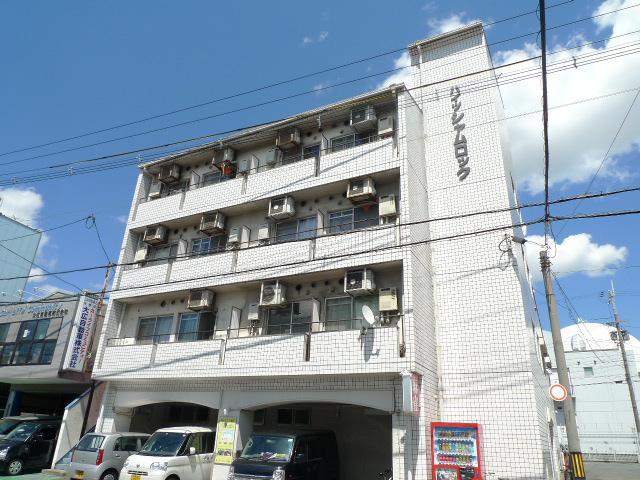 物件番号: 1075917781 ハイツシャムロック 京都市下京区西七条赤社町 1K マンション 外観写真