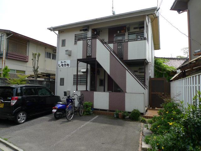 物件番号: 1075909962 カーサしもがも 京都市左京区下鴨蓼倉町 1K ハイツ 外観写真