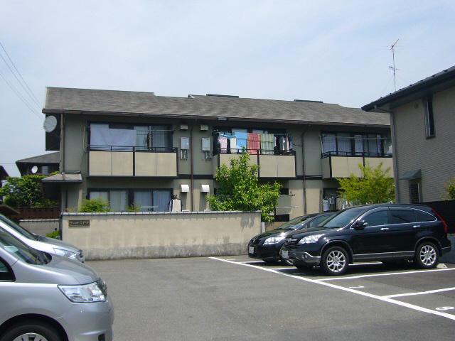 物件番号: 1075914940 セジュールミヤケ 京都市左京区岩倉中大鷺町 2DK ハイツ 外観写真