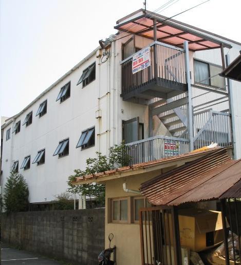 物件番号: 1075914350 メゾン洛苑 京都市左京区高野清水町 1K マンション 外観写真